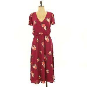 Nordstrom Floral Midi Dress - NWT